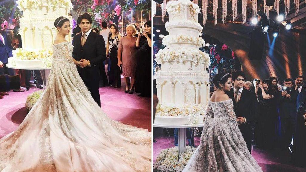 Foto: Kemewahan 5 Pernikahan Anak Konglomerat Rusia Berbujet Miliaran Rupiah