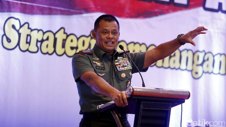 Panglima TNI Hadiri Lokakarya Nasional PAN