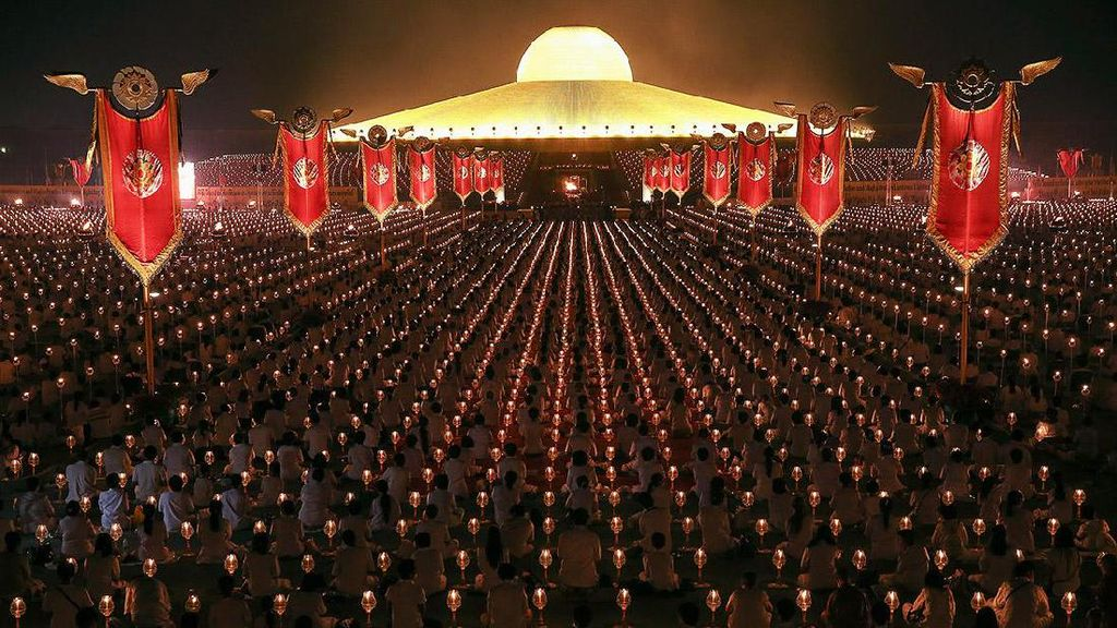 Di Thailand, Ada Vihara Berbentuk UFO