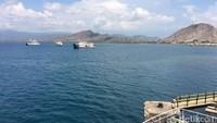 Dari Pelabuhan Kayangan menuju Pelabuhan Poto Tano di Sumbawa memakan waktu sekitar 1,5-2 jam. Perjalanan akan ditempuh dengan kapal ferry (Masaul/detikTravel)