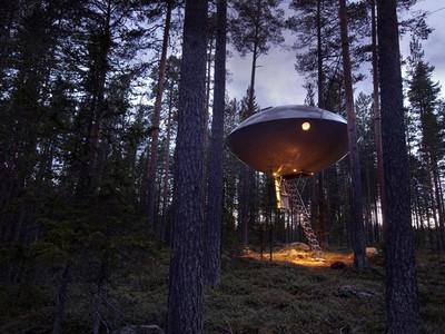 Menginap di Dalam UFO, Cuma Bisa di Swedia