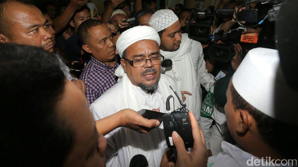 Pengacara: Habib Rizieq Jadi Saksi Saja Tak Layak, Apalagi Tersangka