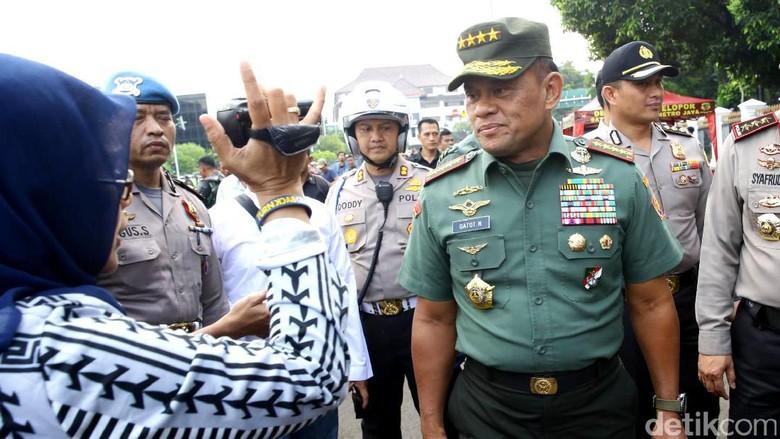 Panglima TNI Merapat ke Istana
