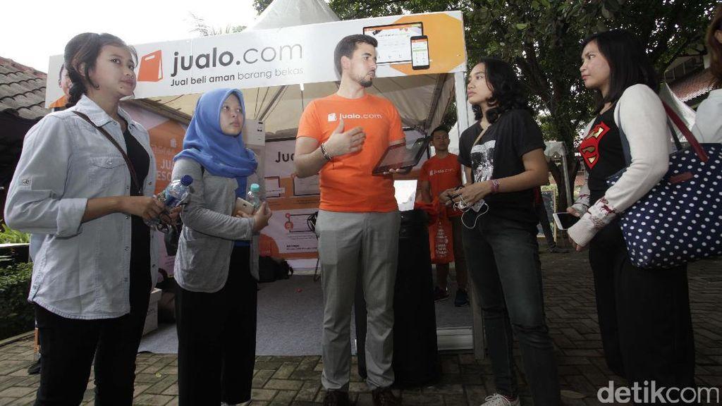 Jualo.com Gelar Road Show di Kampus UI Depok