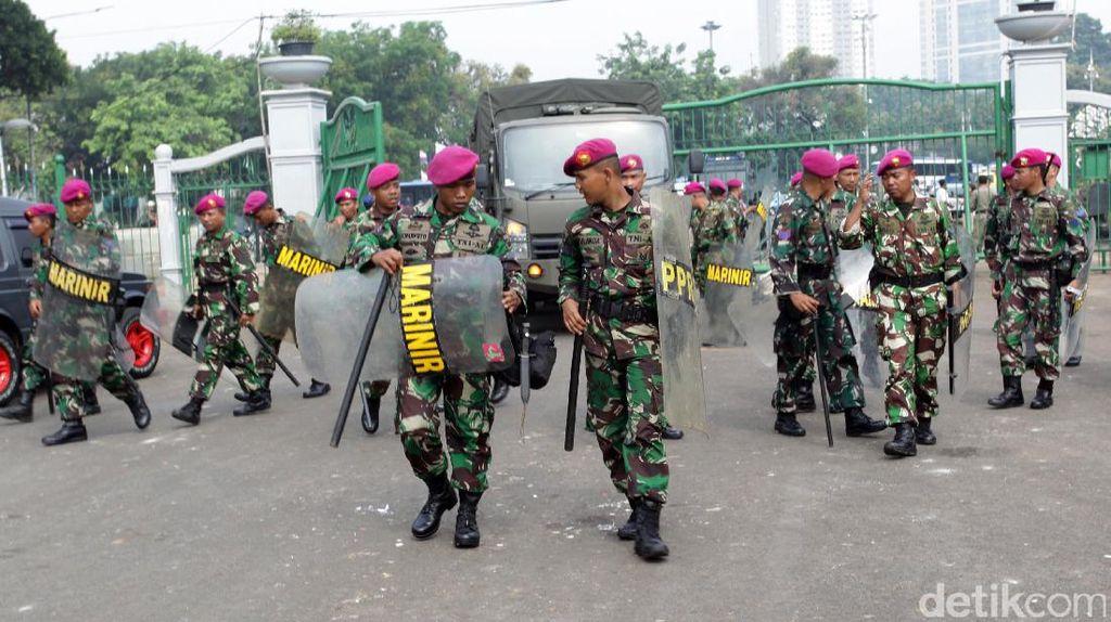 Aturan Baru: TNI/Polri Tak Bisa Isi Jabatan Sipil