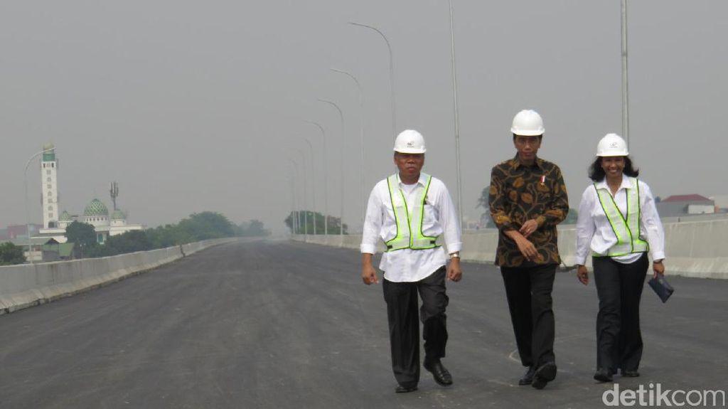 Jokowi: 5 Tahun Ini Fokus Bangun Infrastruktur