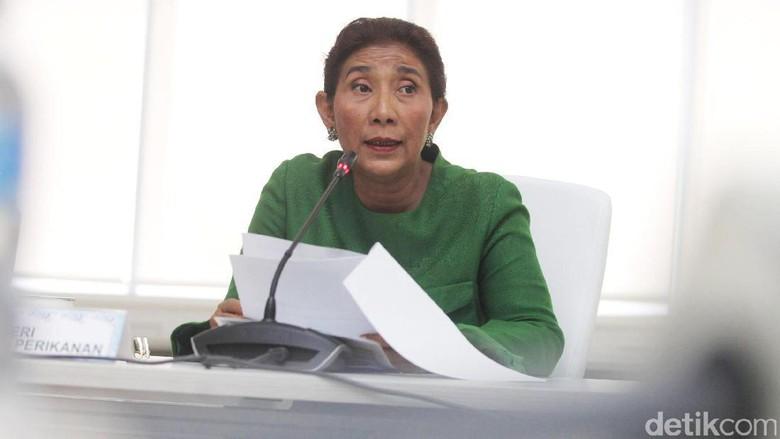 Menteri Susi Berikan Keterangan Terkait Kasus Tanjung Benoa
