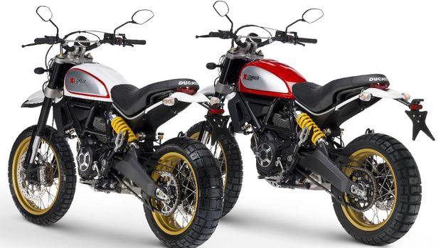 Ducati Scrambler Cafe Racer dan Sled