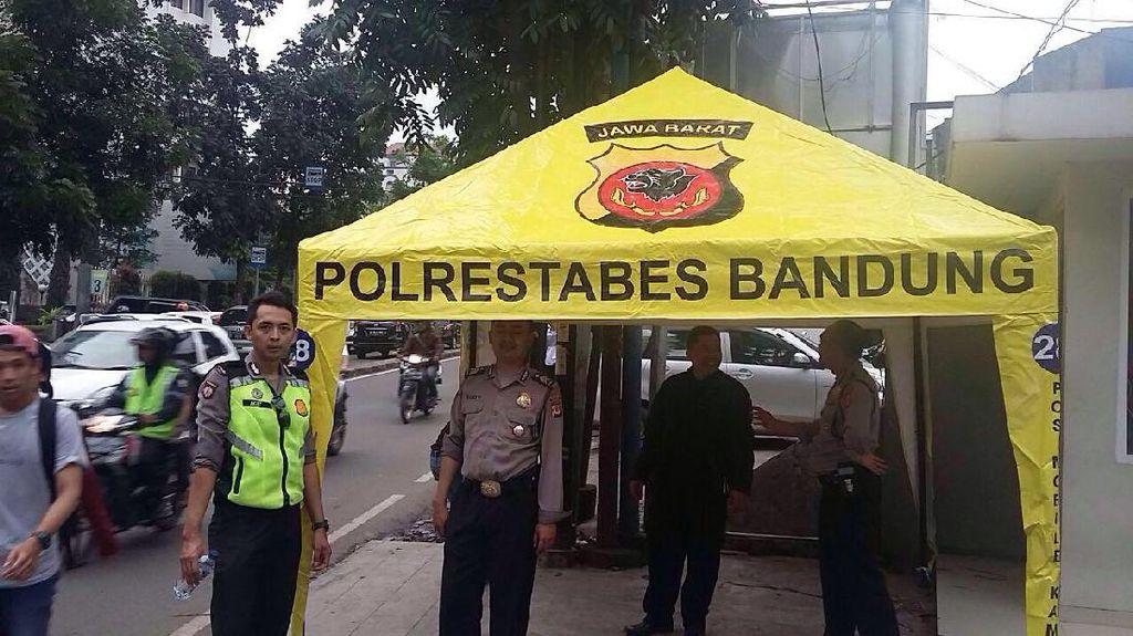 Polisi di Bandung Siap Amankan Karnaval Nasional