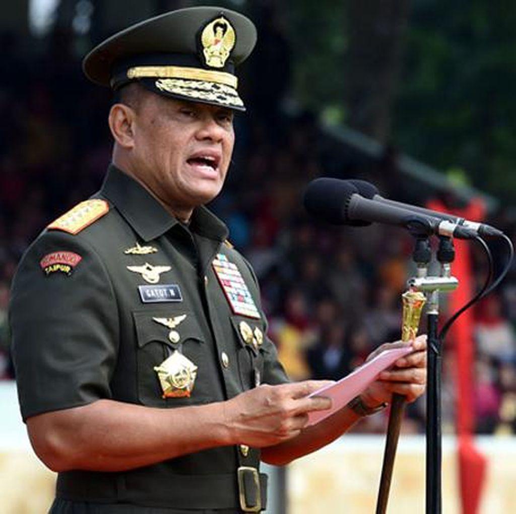 TNI Mutasi 87 Perwira Tinggi