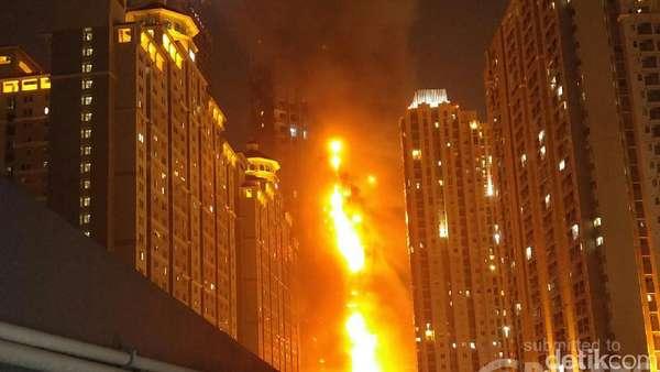 Kebakaran Neo Soho, Percikan Api dari B9 Parkir Atas