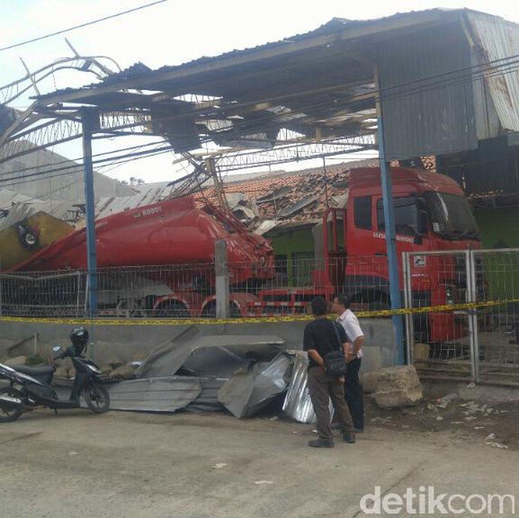 Truk Tangki Meledak di Semarang, 1 Orang Tewas