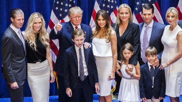 Trump dan keluarganya