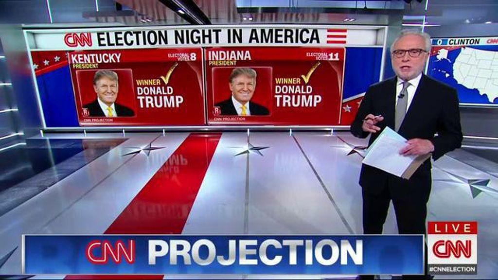 Donald Trump Unggul Sementara, Ini Negara-negara Bagian yang Telah Dimenangkan