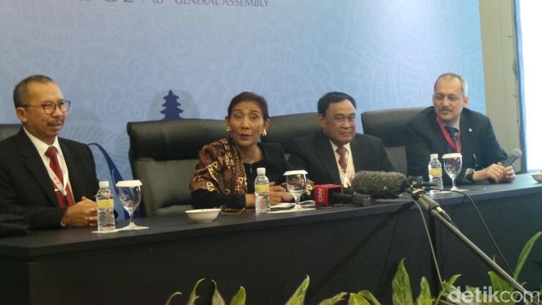 Menteri Susi Ingin Interpol Berperan Besar Berantas Illegal Fishing