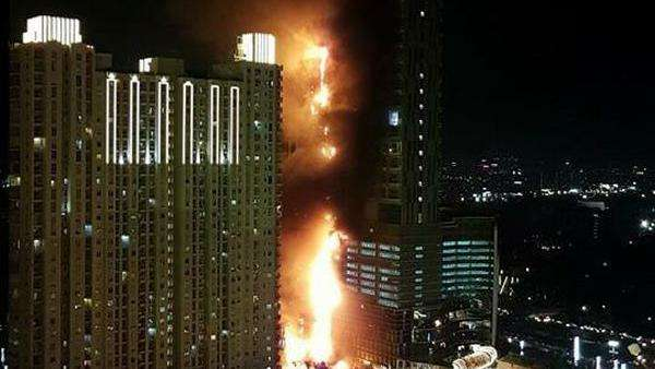 Pengunjung Mal di Apartemen Neo Soho yang Kebakaran Sudah Dievakuasi