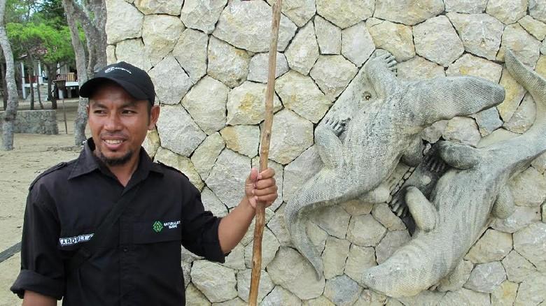 Abdullah, Ranger Komodo (Afif/detikTravel)