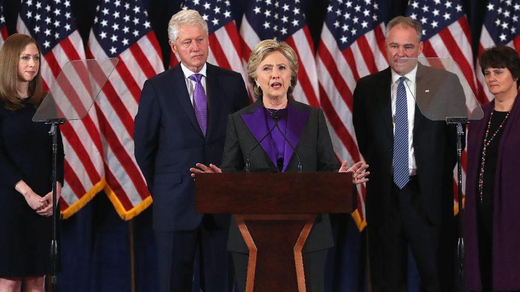 Hillary Clinton Kalah di Pilpres AS, Ini Dampaknya Bagi Para Wanita Bekerja