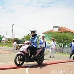 140 Instruktur Honda Ikuti Kompetisi Safety Riding
