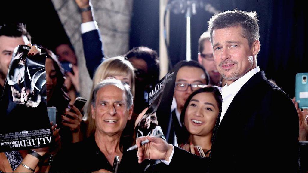 Brad Pitt Ajak Anak-anak Chris Cornell Berlibur