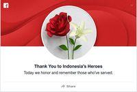 'Selamat Hari Pahlawan' Menggema di Trending Topic Dunia