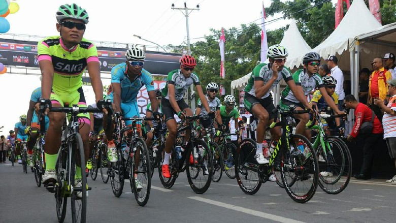 Kembali Digelar, Tour de Makassar Diramaikan Puluhan Pebalap Asing