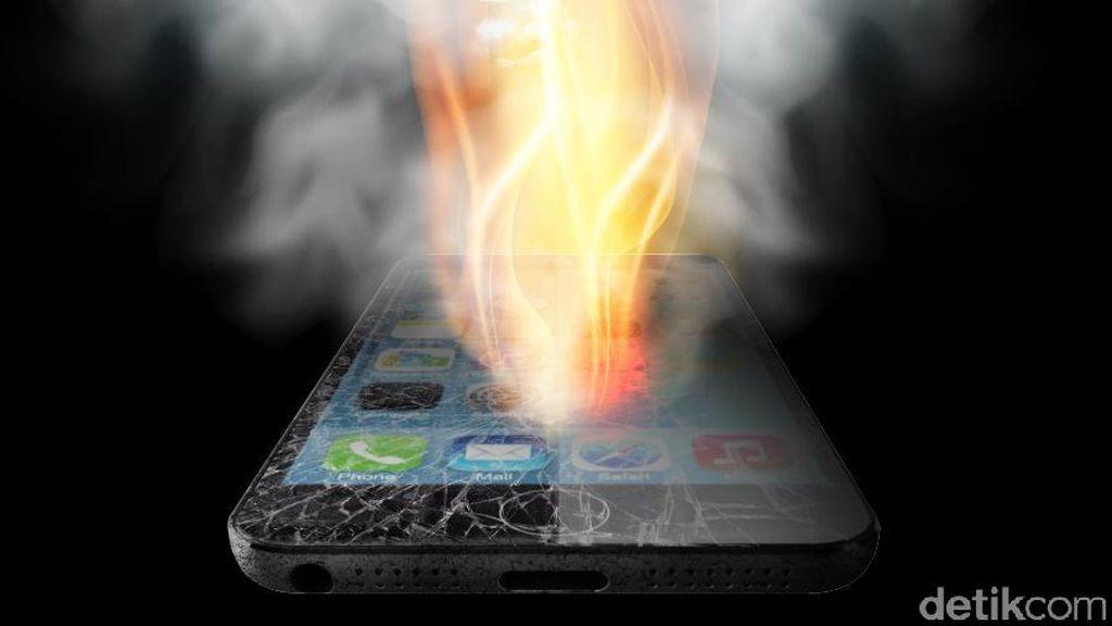 Rentetan Kejadian iPhone Meledak