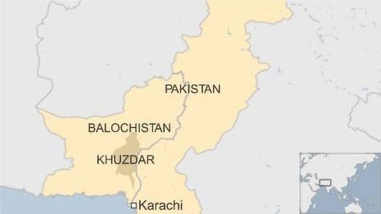 Bom Meledak di Balochistan Pakistan, 30 Orang Tewas