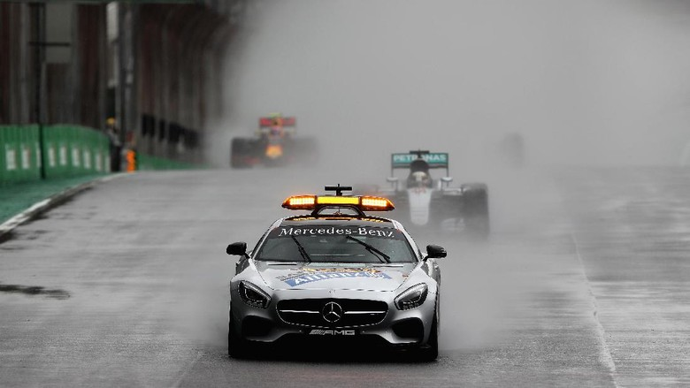Di Masa Depan Safety Car Formula 1 Bisa Pakai Mobil Otonom