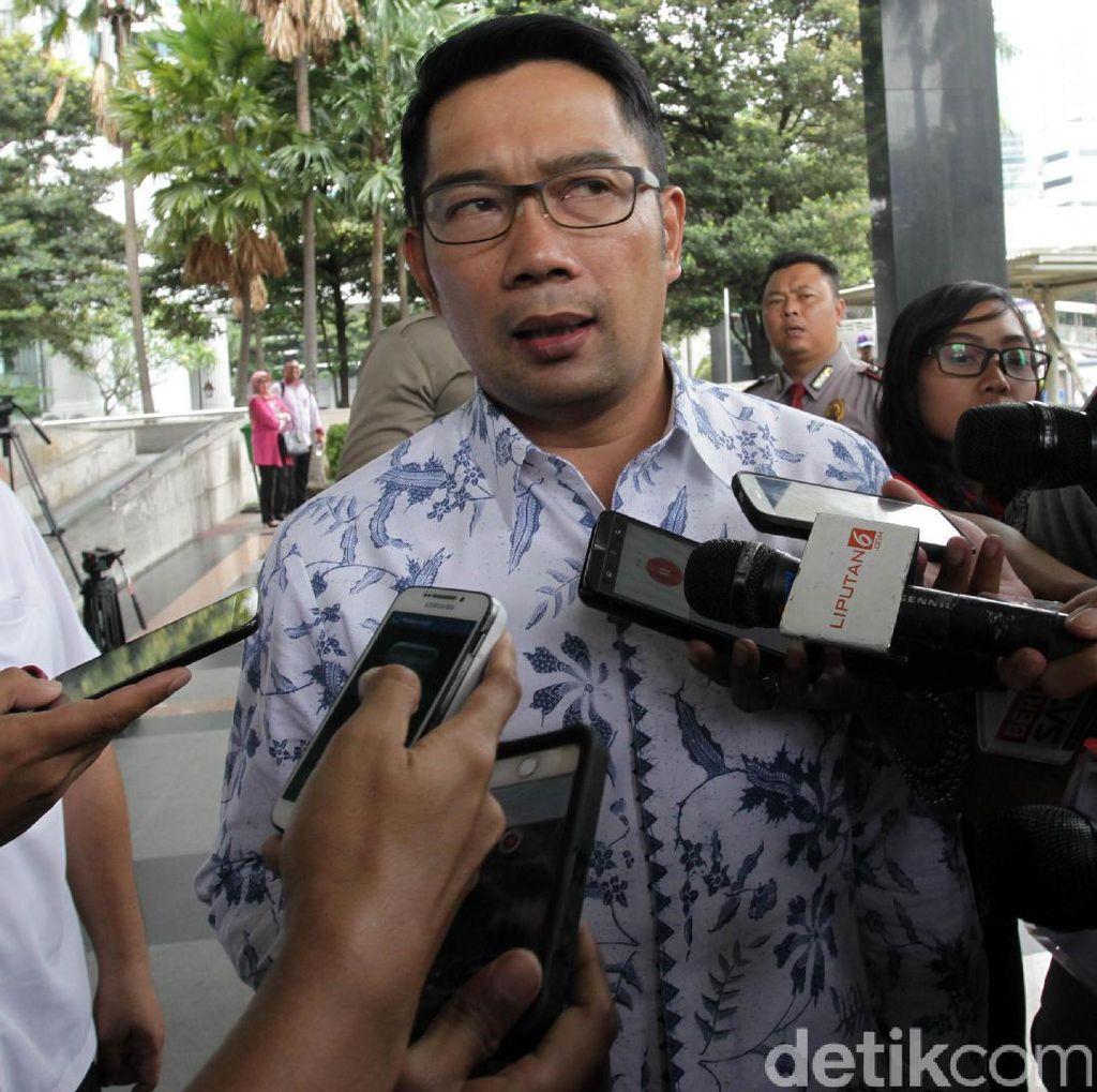 Cegah Teror, Ridwan Kamil Minta RT/RW Pantau Warga yang Kuper