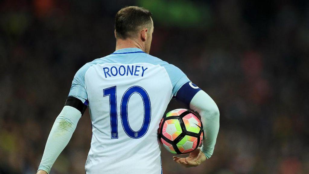 Laga Perpisahan Rooney dengan Timnas Inggris Harus Semeriah Mungkin