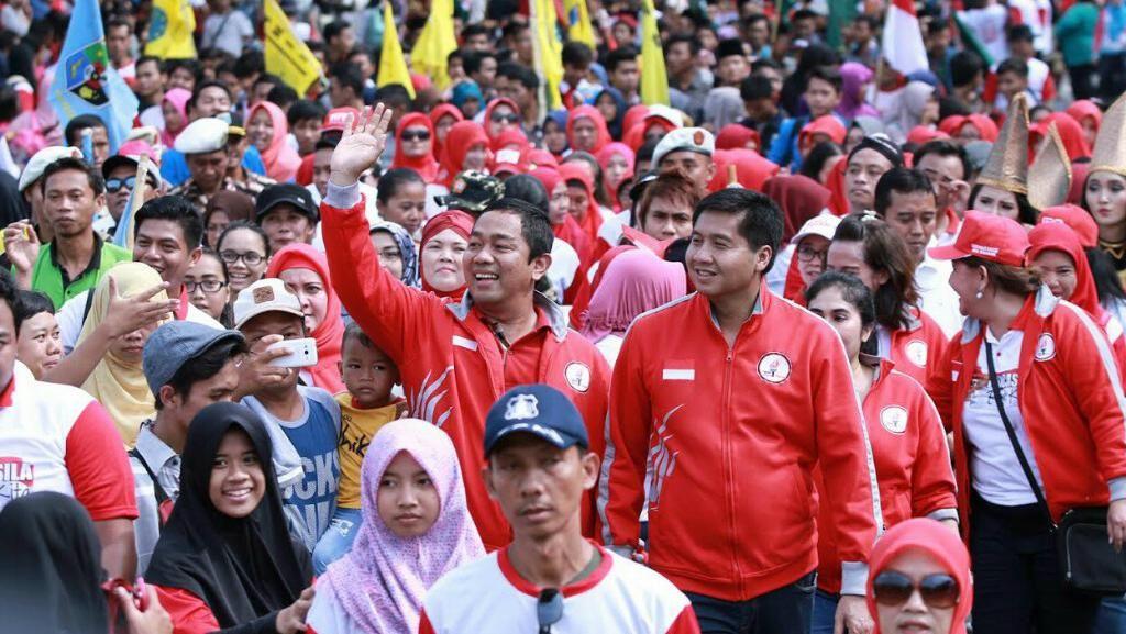 Senyum Warga Semarang Tunjukkan Perdamaian