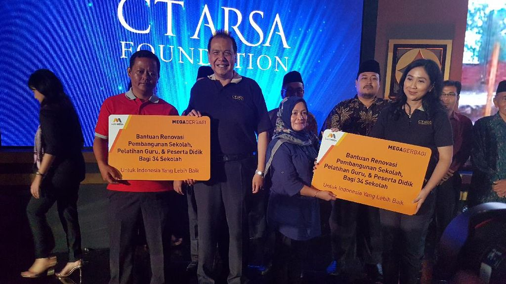HUT ke-11 CT ARSA Foundation Berlangsung Meriah