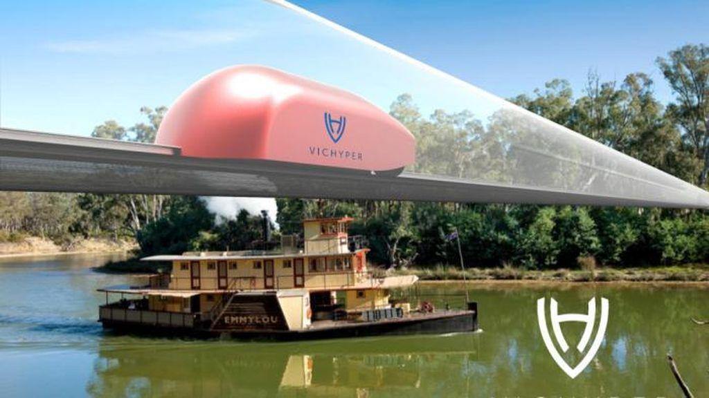 Hyperloop Rancangan RMIT Buat Waktu Tempuh Sydney-Melbourne 50 Menit
