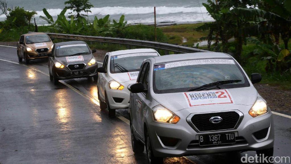 Datsun Risers Expedition 2 di Malang Rampung