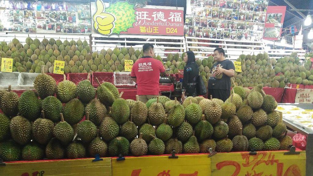 Cerita Durian di Singapura dan Impor dari Malaysia