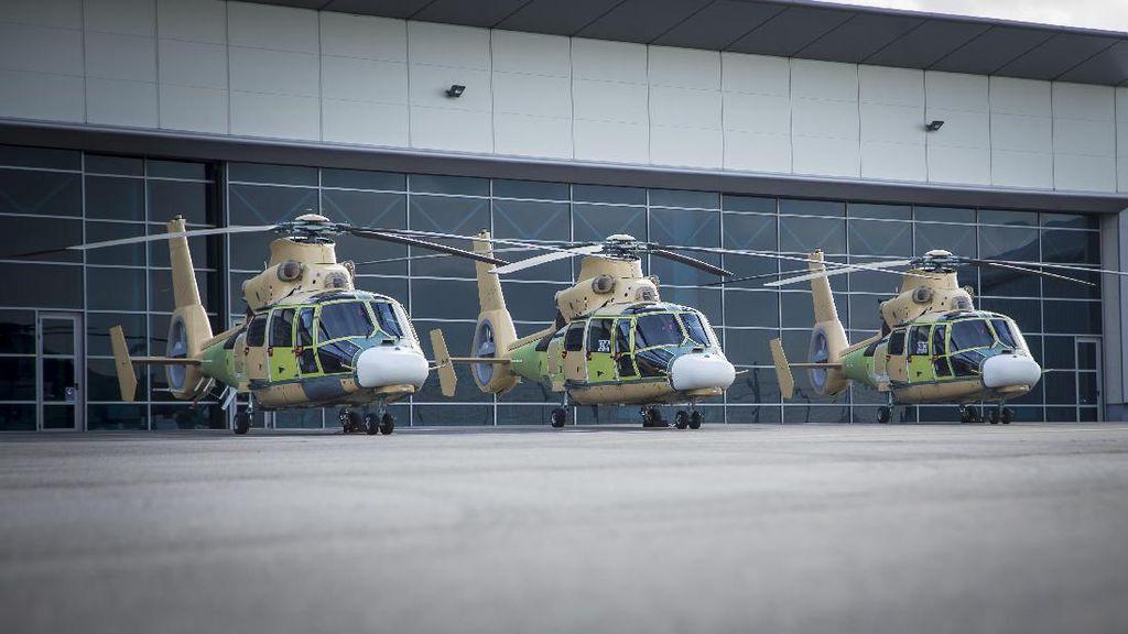 Airbus Kirim 3 Helikopter Anti Kapal Selam ke RI