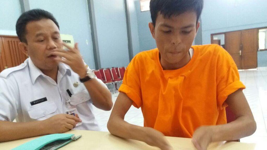Irfan Si Pengemis Bertransaksi Perbankan via E-Banking di iPhone Miliknya