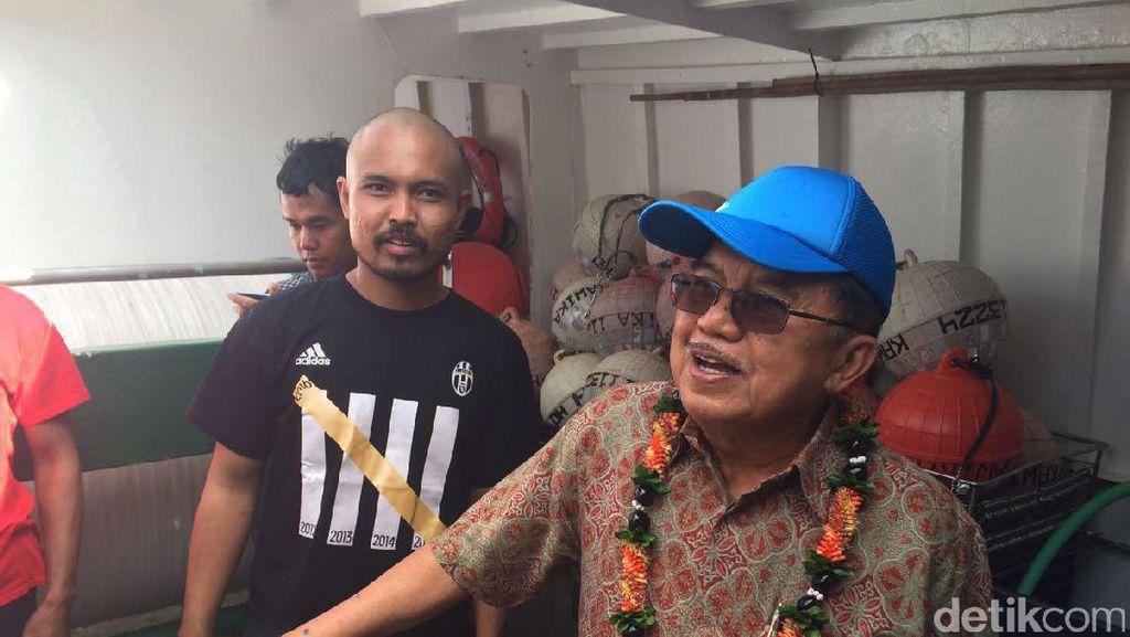 Mampir di Hawaii, JK Datangi ABK Indonesia di Honolulu