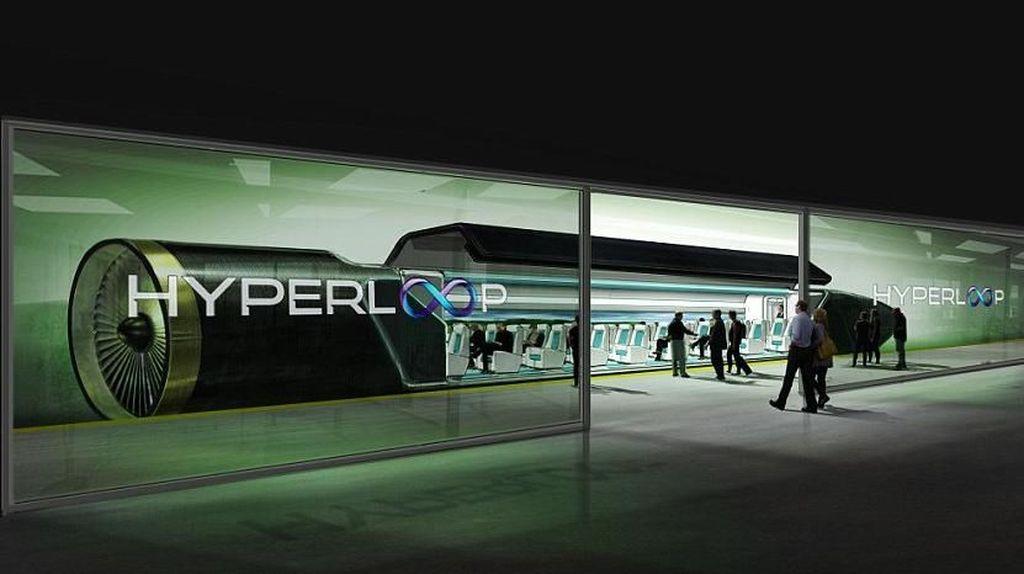 Mengulik Teknologi Canggih Hyperloop, Kereta Penakluk Pesawat