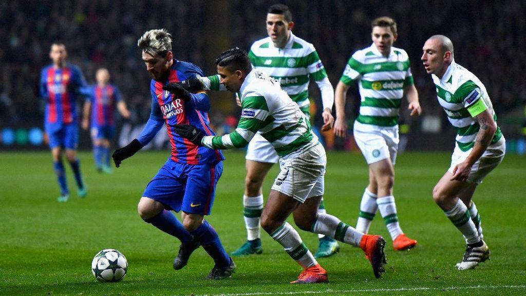 Dua Gol Messi Loloskan Barca sebagai Juara Grup