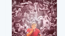 Penghormatan Buat Steven Gerrard Mengalir dari Netizen