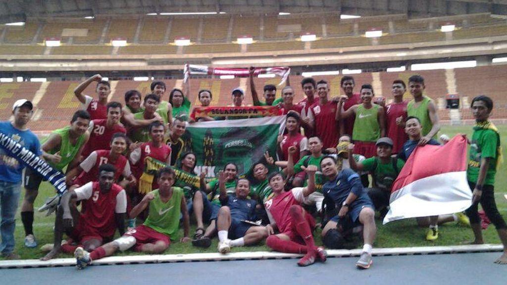 Andik Vermansah & Friends: Pendukung Timnas Spesialis Laga Tandang