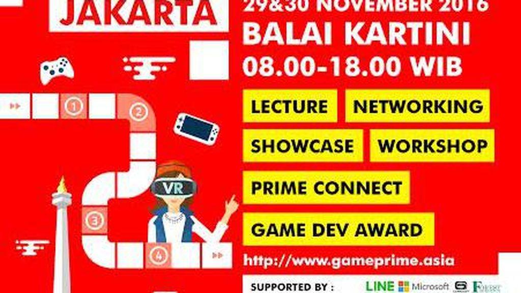 Bekraf Game Prime 2016 Siap Digelar di Jakarta