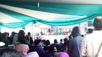 Ciatt! Gaya Bocah Ikuti Lomba Pencak Silat Cingkrik di Festival Rawa Belong