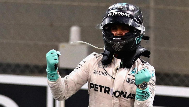 Weltmeister! Nico Rosberg
