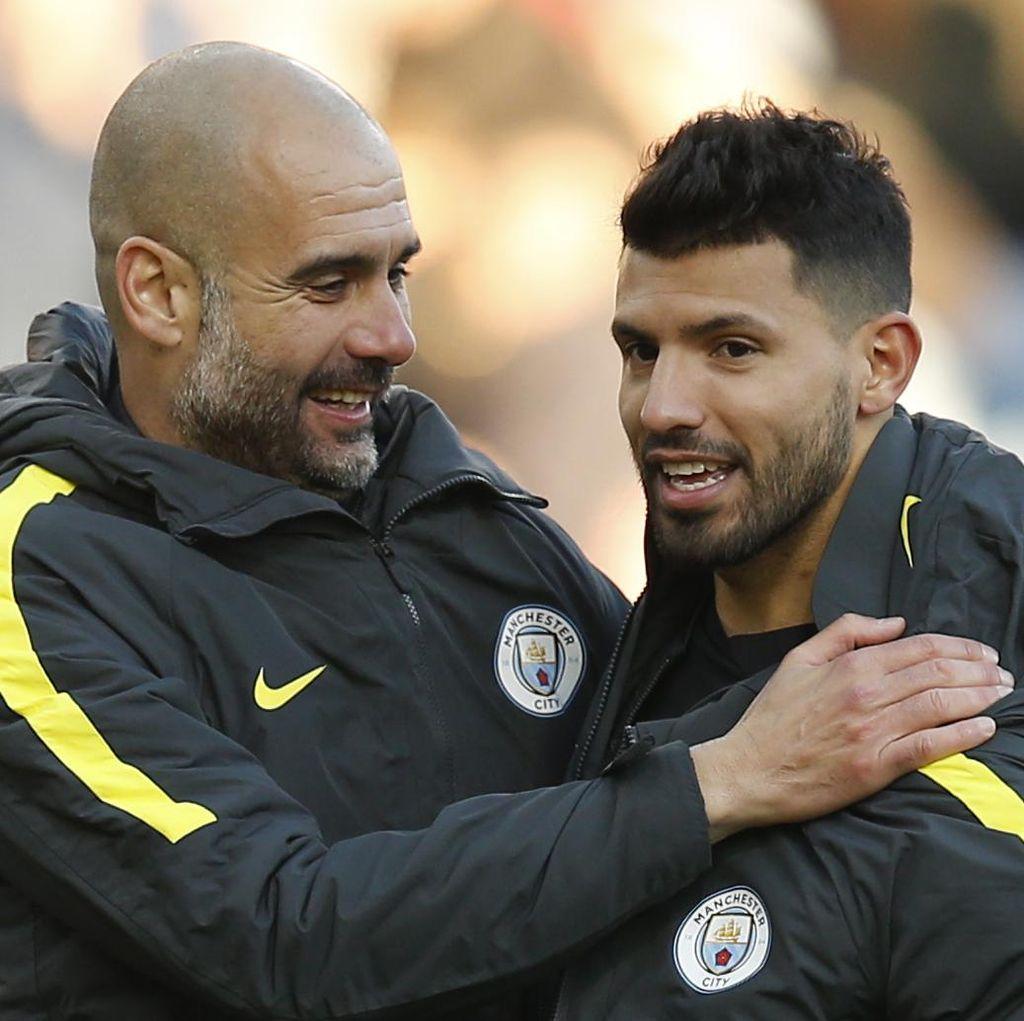 Performa Aguero Menurun, Guardiola Tak Khawatir