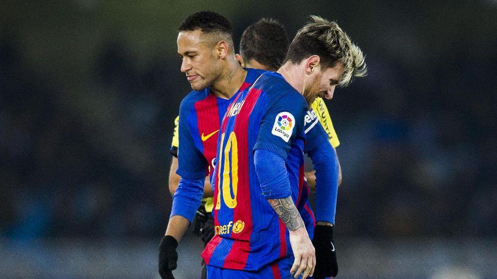 Neymar Larang Coutinho ke Barca, Messi pun Kesal