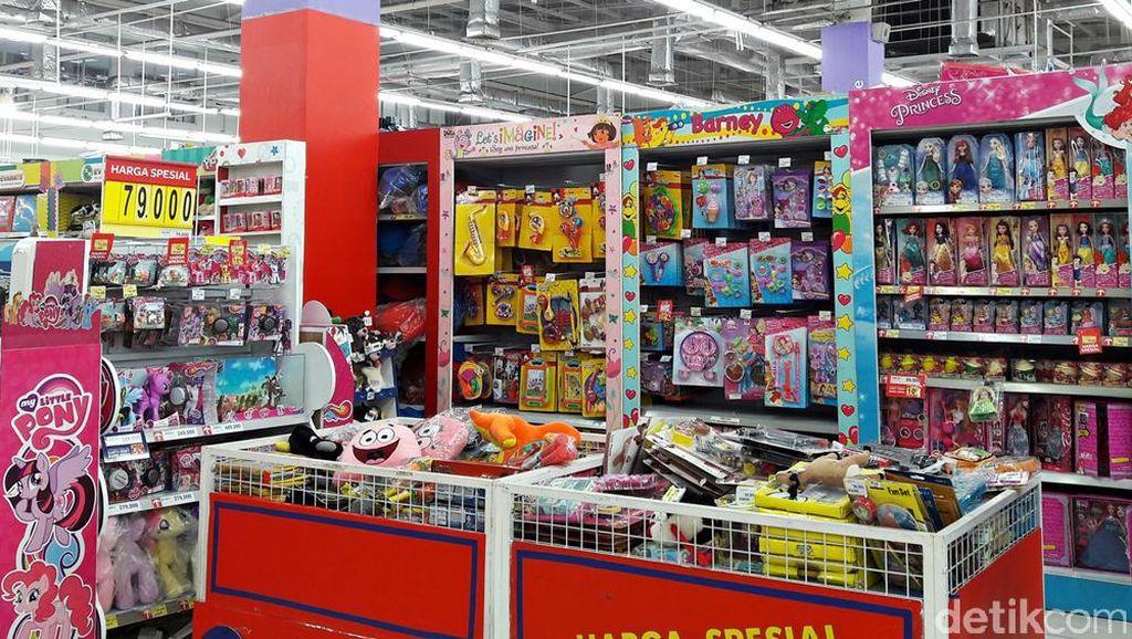 Diskon Mainan Hingga 50% di Transmart Carrefour