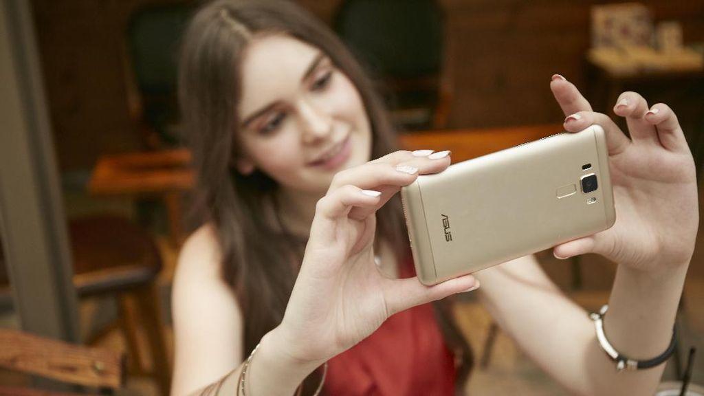 Asus Siapkan Zenfone untuk Penggila Selfie
